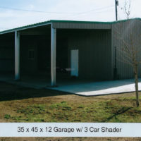 garage with car shader